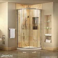 Compact Shower Stall Shop Corner Shower Kits At Lowescom