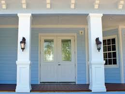 porch column wraps. Interior:Delightful Front Porch Column Wraps Pvc An Pillars Columns Delightful
