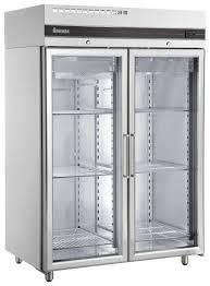 double glass door fridge johnson