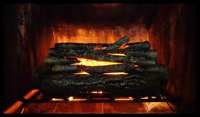electric fireplace log insert