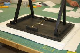 How To Make a TV Tray Ironing Board – American Quilting & Step Three: Adamdwight.com