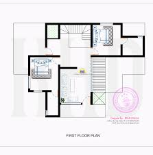 contemporary house with floor plan by bn architects kerala home first drawing side view architectural architectural drawings floor plans design inspiration architecture