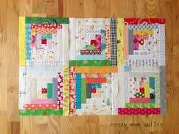 crazy mom quilts: the start of a traditional log cabin quilt & Thursday, May 19, 2016 Adamdwight.com