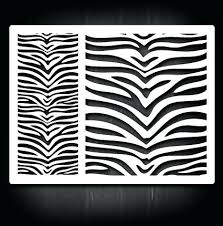 Stripe Templates Tiger Template Printable Stripe Monster Coupon Wall Stencils Large
