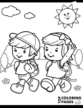 Looking for a quick and free activity for your kids this summer? Summer Coloring Pages Seasons Topcoloringpages Net