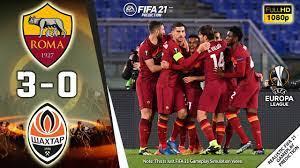 AS Roma vs Shakhtar Donetsk 3-0 | UEFA Europa League 2020/21 | ROUND OF 16  | 11/03/2021