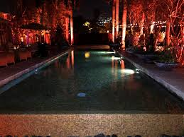 space lighting miami. A Magical Evening At Sacred Space Miami Reflection Pool Lighting