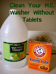 Clean your high-efficiency washing machine without tablets. Also a great  tip with tea