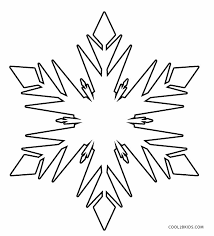 Allow a few snowflakes to fall on the paper. Printable Snowflake Coloring Pages For Kids