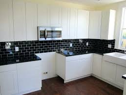 black glass backsplash kitchen black subway tile kitchen home design ideas in plan black glass tile black glass backsplash kitchen