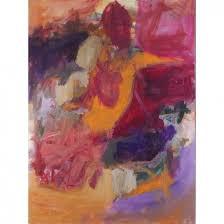 Lot-Art | Jacqueline Barnett, Listed, Abstract Oil Painting