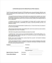 12 cal confidentiality agreement