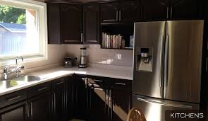 kitchen cabinets kitchener waterloo cabinet repainting