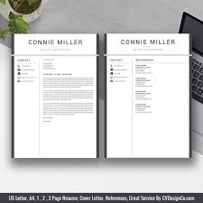 Cv Ms Office Best Selling Ms Office Word Resume Cv Bundle The Connie Resume Templates Cv Templates Cover Letter References For Unlimited Digital Download