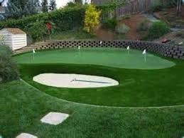 putting greens