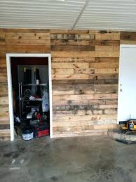 garage wall covering ideas