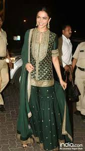 Bollywood Actress Suit Design Bollywood Actress Deepika Padukone In Bottle Great