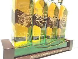 Classic Malts Display Stand Johnnie Walker Green Label Limited Edition Taiwan Wonders 76