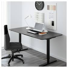 ikea office chairs canada.  Canada Cool Ikea Office Desks And Bekant Desk Sit Stand Black Brown White  Canada As Your Interior In Chairs