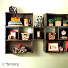 wooden square shelves square wall shelves box shelves on wall rustic brown stained wooden shelf box
