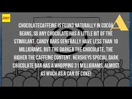 is the caffeine in chocolate milk