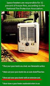 space heaters safety