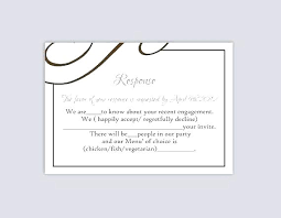 Party Rsvp Template Free Template Card Templates Website Online Download Wedding