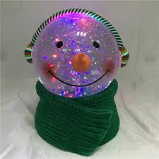 Lighted Snowman Snow Globe Holiday Christmas Battery Operated Rgb Led Lighted 100mm Water Glitter Globe Snowman With Knitted Scarf Buy Snowman With Knitted Scarf Christmas