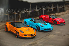Which colour today - Blue, Red or Orange - Forgiato Widebody C7 ...