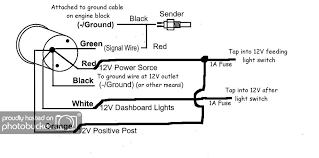 4 gauge wiring electric mx tl gauge wiring diagram additionally sunpro temperature gauge wiring