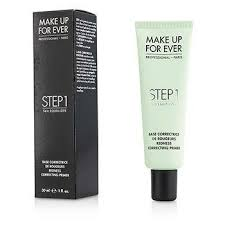 ings makeup daily make up for ever step 1 skin equalizer redness correcting primer