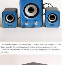 Loa Vi Tính Thế Hệ Mới , Loa Máy Tính Soundmax thiết Kế Mới Nhỏ Gọn Bắt Mắt  Có Núm Chỉnh Âm Lượng ,Bass, Treble Âm Thanh Cực Trong.