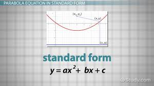 finding the equation of a parabola from the focus and directrix lesson transcript study com