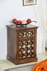 solid wood brass bedside table d buy zina solidwood side table