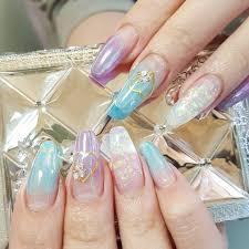 ユニコーングラデーション 水色と紫 At Lilasnail14 千葉 四街道