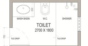 Small Picture 5ft x 8ft standard small bathroom floor plan with shower Small