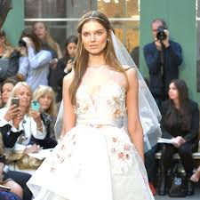 Wedding Dress Trends Spring 2017 Popsugar Fashion