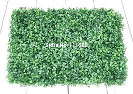 faux grass wall decor decorative plants