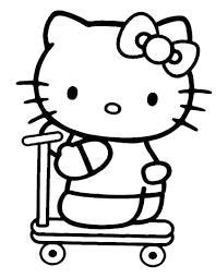 Disegno Di Hello Kitty Da Stampare Gratis