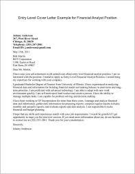 Sample Cover Letter For Entry Level Position Magdalene
