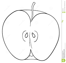 apple clipart black and white. apple seed clipart 27 black and white