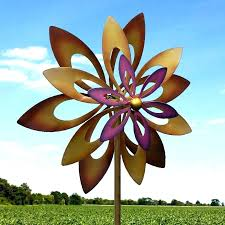 wind spinners for garden metal garden spinners garden wind spinners metal whole kinetic wind sculpture dual