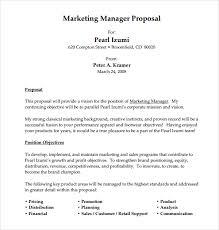 Job Proposal Examples Under Fontanacountryinn Com