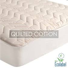 Natural Cotton Quilted Mattress Pad &  Adamdwight.com