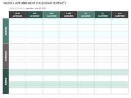 Free Weekly Schedule Template Excel Free Weekly Calendar Templates Weekly Schedule Template