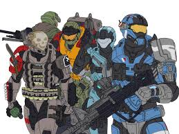 Small Picture Halo Reach Noble Team Flat Colours by leonalmasy on DeviantArt