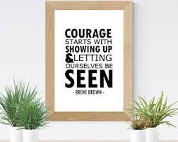 brene brown quote social work office art printable digital print wall on brene brown wall art with bren brown etsy