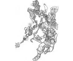 Small Picture kingdom hearts kairi coloring pages Sora kairi in Kingdom