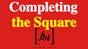 solving quadratic equations completing the square