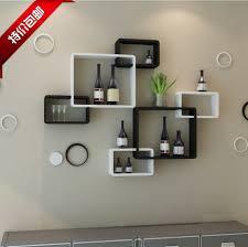 Full Size of Home Design Unique Creative Wall Shelves Photos Tv Background  Shelving Cross Lattice Shelf ...